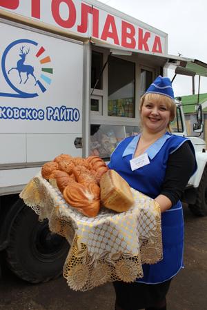 Починковское райпо автолавка хлеб
