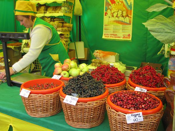 Городец ягоды
