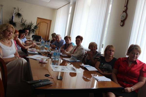 К нижегородским кооператорам прибыли  коллеги из Орловского областного союза потребительских обществ