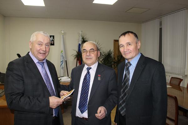 Нижегородский облпотребсоюз посетил профессор Российского университета кооперации Камиль Исмагилович Вахитов