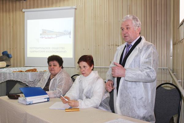 Руководители кооперативных хлебопекарных предприятий  посетили Шарангский хлебокомбинат