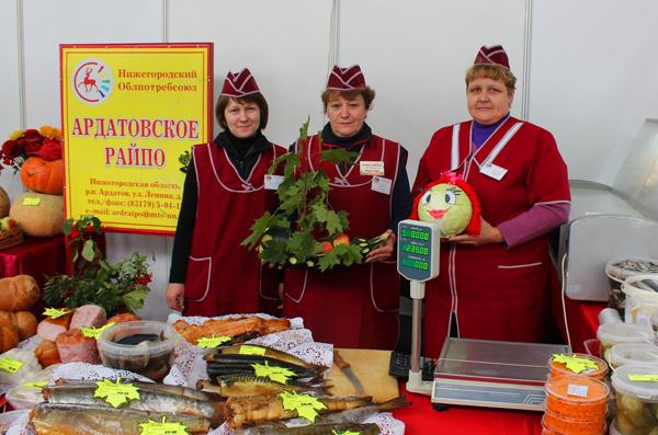 Нижегородский облпотребсоюз  принимает участие в ярмарке «Осеннее плодородие»