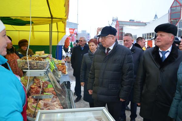 Нижегородские кооператоры приняли участие в сельскохозяйственной выставке-продаже