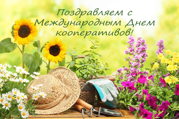 С  профессиональным  праздником - Международным Днем кооперативов!