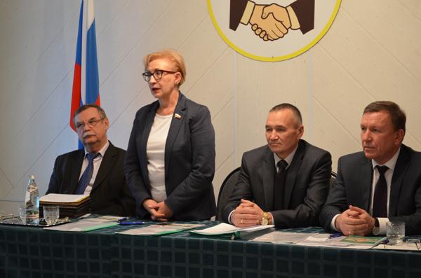 Депутат Госдумы РФ Наталья Назарова оценила итоги работы кооператоров Ардатовского райпо