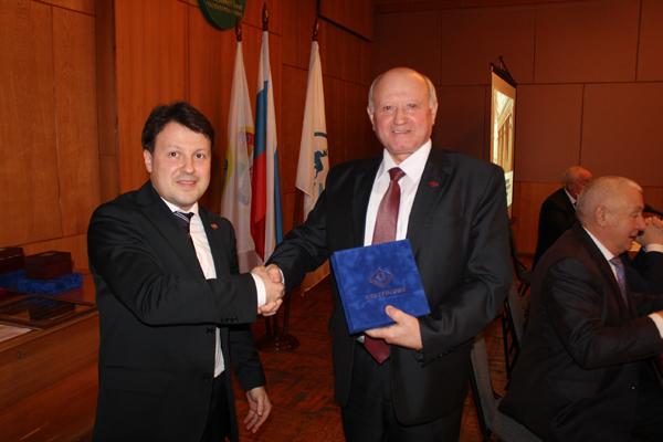 Отчетно-выборное собрание награждение Сандакова