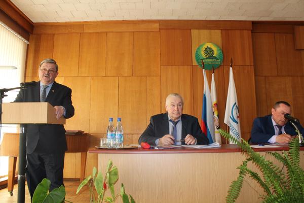 Отчетное собрание Бацин