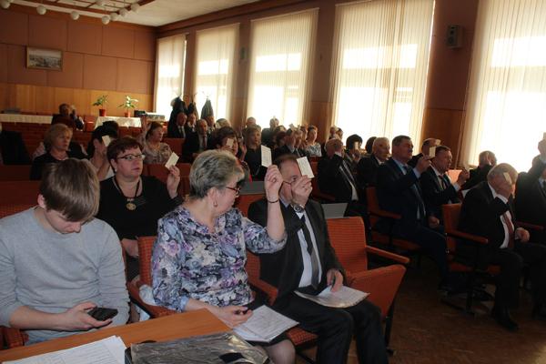 Отчетное собрание зал