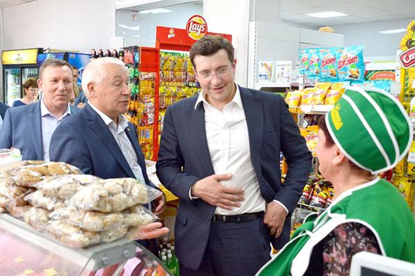 Глава Нижегородской области Глеб Никитин познакомился с продукцией нижегородских кооператоров