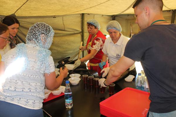 Нижегородский облпотребсоюз организует питание  для паломников в Дивеево