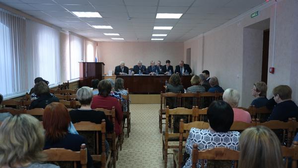 Собрание в Городецком райпо 2